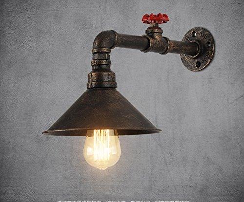 CXM-Wall lamp Retro Nostalgiker Stil Gang Wohnzimmer Bar Bronze Wasser Rohr Eisen Wand Lampe