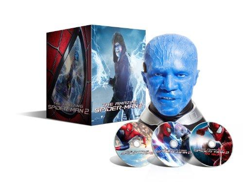 (The Amazing Spider-Man 2 : le destin d'un Héros - Blu-ray 3D + Blu-ray + DVD + Digital Ultraviolet - Coffret collector tête d'Electro - Edition limitée exclusive Amazon.fr)