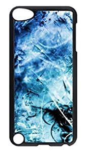 Brian114 Case, iPod Touch 5 Case, iPod Touch 5th Case Cover, Blue 2 Retro Protective Hard PC Back Case for iPod Touch 5 ( Black )