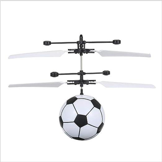 Wmchiwan Volador Bola, para Niños Control Remoto Helicóptero ...