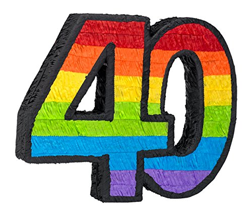 Ya Otta 40Th Birthday Pinata -