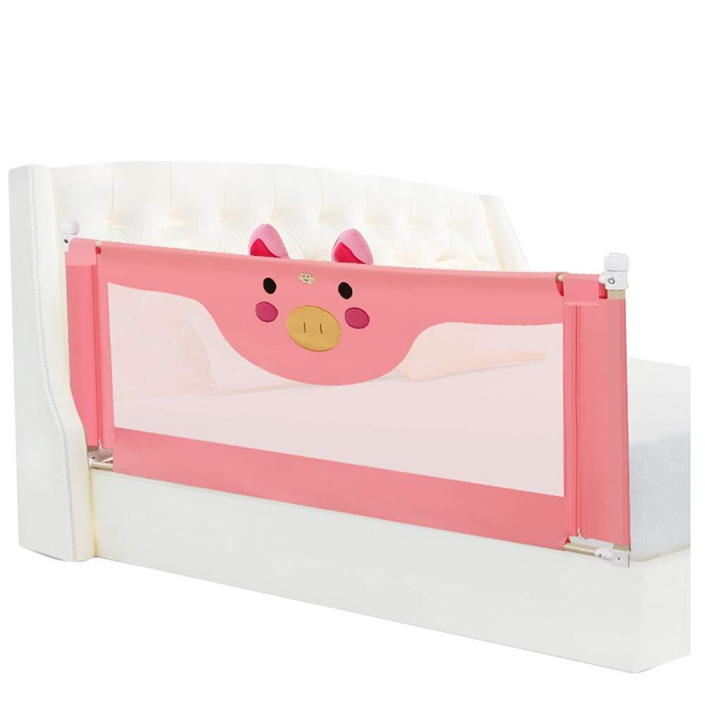 LIQICAI 幼児用ベッドレール、子供、赤ちゃん 幼児の安全ガードレール、 縦の持ち上がることを支えます、 3色、 5サイズ (色 : 赤, サイズ さいず : 2.2m) 2.2m 赤 B07QGNZ93K