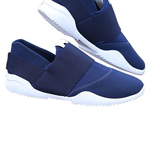 À Porter Glissement Le Des Des Sur Sport Antidérapantes Dur Toile L'air En Plates Bleu Chaussures De Perméable Hommes De xpnYwRqg6