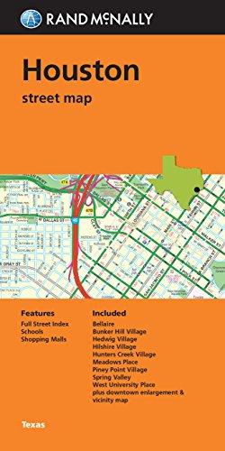 Folded Map: Houston Street - Houston Tx Outlet