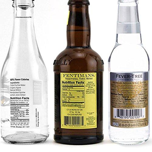 Premium Tonic Water Sample Pack - Set of 6 Bottles