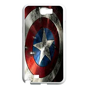 Cell Phone case Captain America Cover Custom Case For Samsung Galaxy Note 2 N7100 MK9Q962469
