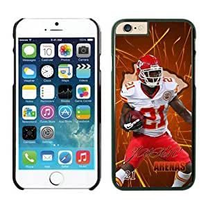 Kansas City Chiefs Javier Arenas iPhone 6 Plus NFL Cases Black 5.5 Inches NIC12705 by kobestar