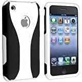 Generic MC0157 Cell Phone Case for iPhone 3 G 3GS - Non-Retail Packaging - White
