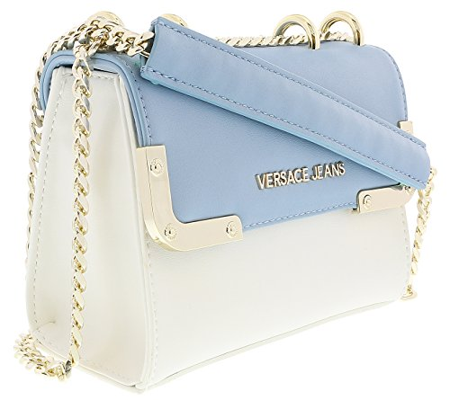 Versace EE1VRBBA4 White/Powder Blue Shoulder Bag for for sale  Delivered anywhere in USA