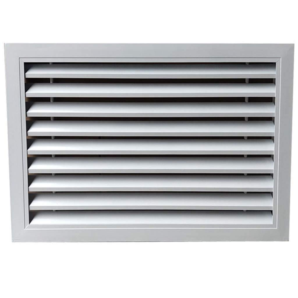 Grille Air Vent Cover Aluminum Alloy Return Air Waterproof And Durable Air Ventilation For Shutters Vents Suitable For Home Air Conditioner Machine Room Office Amazon In Home Kitchen