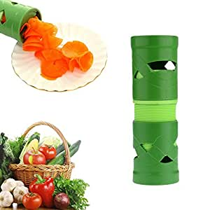 Multifunction Vegetable Fruit Twister Cutter Slicer Utensil Processing Device by ieasycan