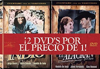 Amazon.com: Alias el Alacran/Indio: Rodolfo De Anda: Movies & TV