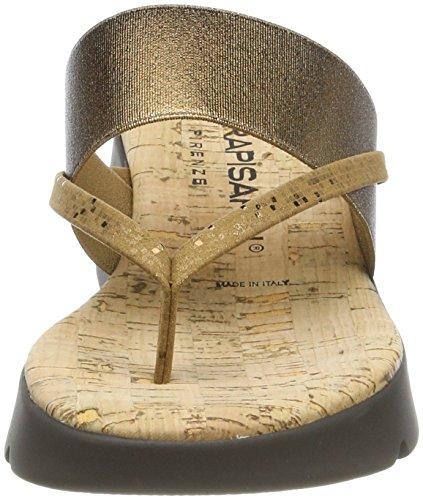 Women's Sling Rapisardi Pixel Lam NR Egle Pixel Back 23el Sandals Bronze Brown Lam TOg5fnwqx5