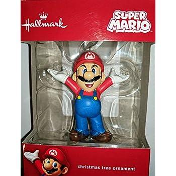 Super Mario Hallmark Christmas Tree Ornament - Amazon.com: Hallmark Nintendo Super Mario Bros. Mario Christmas
