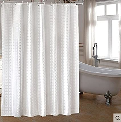 ZnzbztCurtain Wall Curtain Rod Thickened OSCE Hotel Toilet Shower Water Resistant Glass