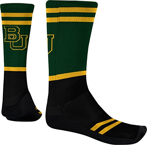 ProSphere Baylor University Men's Sublimated Socks - Classic F55A1 (Large)