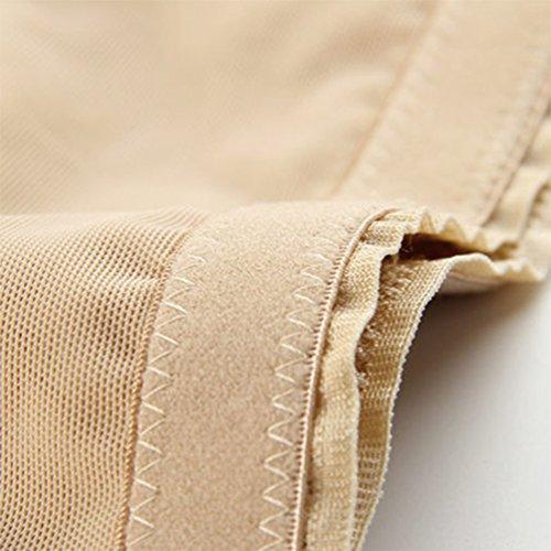 Slip Post Alta Slimming Contenitivo Intimo Modellante Waist Dimagranti Lingerie Nudo Contenitiva Donna Ricamo Mutande Guaina Yuandian Vita Shapewear Parto 4 Traspirante gxw75qg4