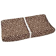 Disney Lion King Simba's Wild Adventure Super Soft Changing Pad Cover, Brown, Ivory