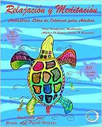 ANTIESTRES Libro De Colorear Para Adultos: Relajación Y