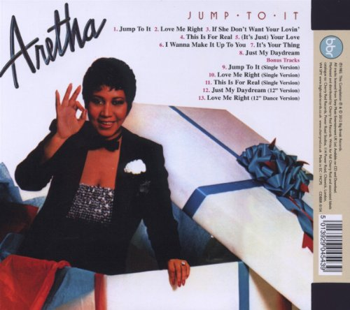 Jump To It ~ Expanded Edition /  Aretha Franklin by BBR (Image #1)