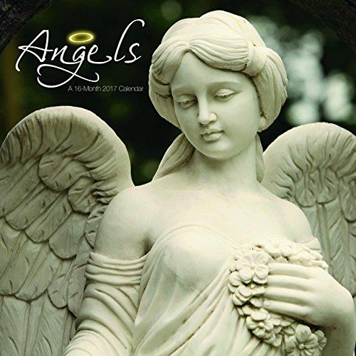 Angels 2016 Wall Calendar - Trends International 2017 Wall Calendar, September 2016 - December 2017, 11.5