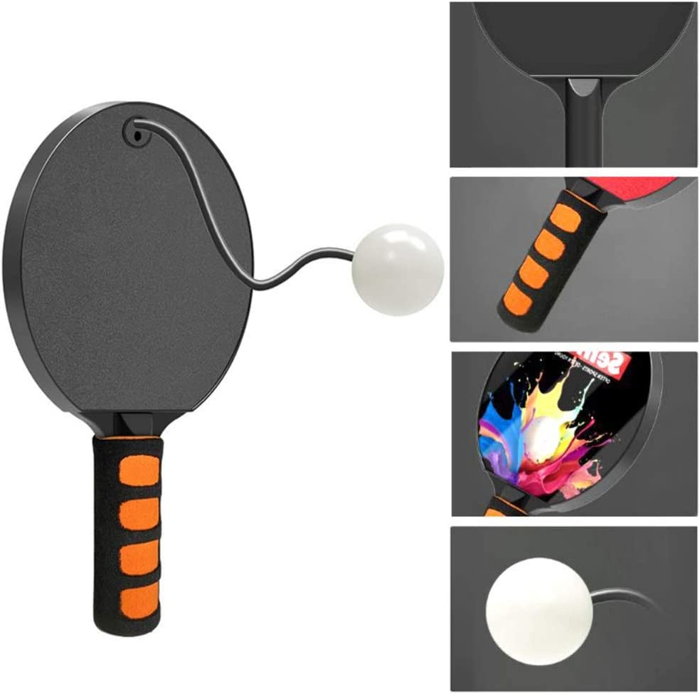 Daxoon Tischtennis Trainer Kreative Bounce Back Paddle Ball F/ür Indoor Outdoor Spielen