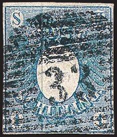 Goldhahn Schleswig-Holstein Nr. 1 gestempelt Briefmarken für Sammler