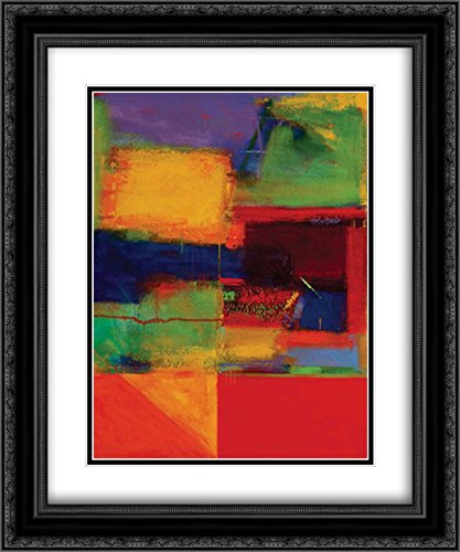 Vibration II 2x Matted 20x24 Black Ornate Framed Art Print by Collins, Gary Max