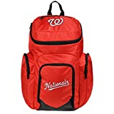 MLB Washington Nationals Traveler Backpack, One Size, Red