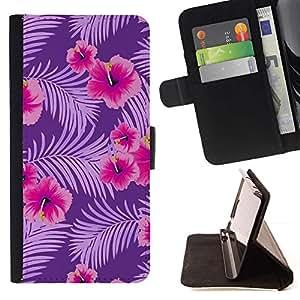 Momo Phone Case / Flip Funda de Cuero Case Cover - Poder Modelo rosado Flores - MOTOROLA MOTO X PLAY XT1562
