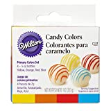 Wilton Candy Decorating Primary Colors Set, 1 oz.