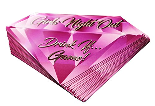 Girls Night Out Drink If Game  40 Game Cards for Bachelorette Parties Girl#039s Night Bridal Showers and More
