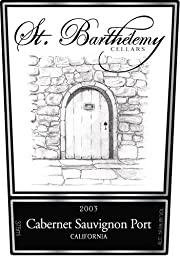 2003 St. Barthelemy Cellars Cabernet Sauvignon Port 375 mL