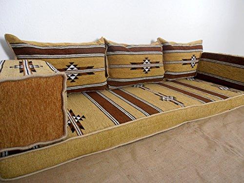 Traditional oriental floor seating,floor sofa,arabic cushions,arabic seating,arabic couch - MA 24