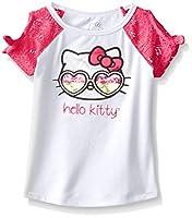 Hello Kitty Girls' T Shirt Sugar Glitter