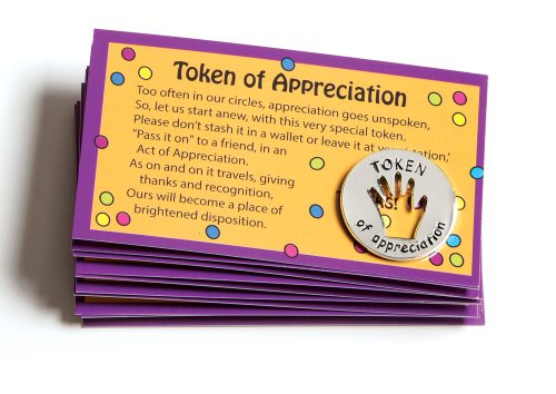 Employee Appreciation Gifts (Tokens of Appreciation and Cards (Set of)