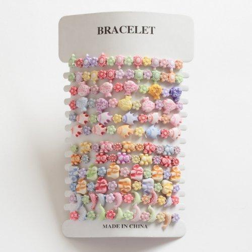 Set di 12 bracciali per bambini –  ideale per sacchetti per feste LIBBYSHOUSE T494