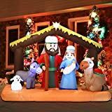 Joiedomi Christmas Inflatable Decoration 6.5 ft