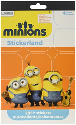 Minions Stickers Party Favors ~ 295 Reward Stickers ()