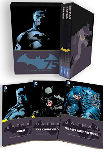 Batman 75th Anniversary Box (Jim Lee Batman)
