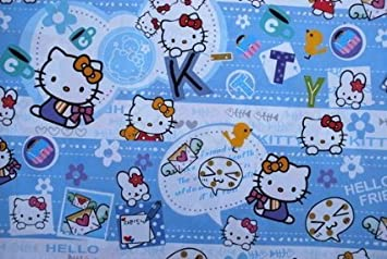 216de5641 Image Unavailable. Image not available for. Color: Gift Wrapping Paper - Hello  Kitty E