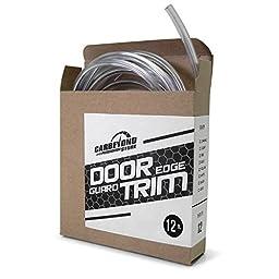 Full Size 12\' Clear U Shape Car Door Edge Guard Trim