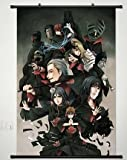 Wall Scroll Poster Fabric Painting For Anime Naruto Key Roles of Akatsuki 599 L