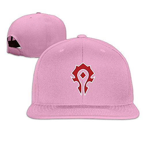 sunny-fish6hh-adjustable-world-of-warcraft-the-horde-symbol-baseball-caps-hat-unisex-pink