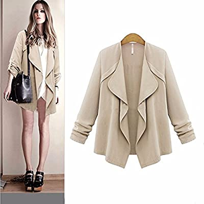 Winter Coats for Women with Fur Hood,Women Autumn Winter Long Sleeve Office Coat Cardigans Suit Long Jacket