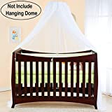 (No Dome Hanging) Baby Kids Hanging Princess Crib Mosquito Netting for Canopy; Toddler Play Tent Summer Insect Mesh Cover