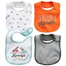 "Carter's Baby Boys ""Summer Dogs"" 4-Pack Bibs"
