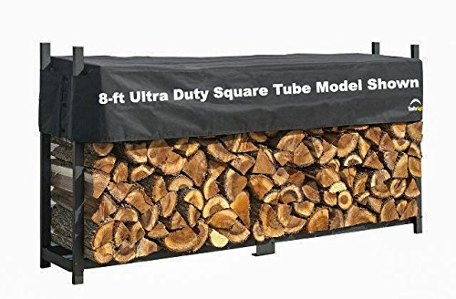 ShelterLogic Rectangle Firewood Rack with Cover