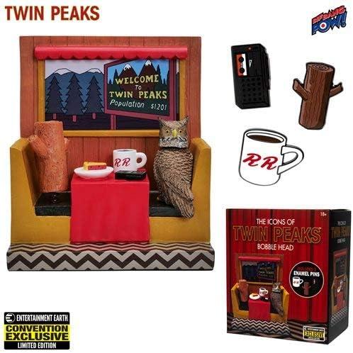 SHOWTIME Twin Peaks Icons Bobblehead /& Enamel Pins