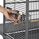 MidWest Homes for Pets Nina Bird Cage-Platinum Dome Top